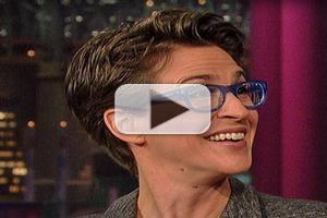 VIDEO: Rachel Maddow Talks Gay Rights in Russia & Sochi Olympics on LETTERMAN