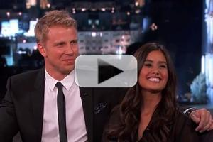 VIDEO: JIMMY KIMMEL Challenges 'The Bachelor's Sean & Catherine on Abstinence Claim