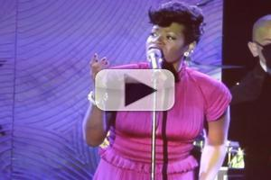 STAGE TUBE: Fantasia Performs 'Stormy Weather' at 2014 Pre-Grammy Party