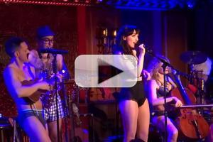 STAGE TUBE: Lena Hall, Justin Matthew Sargent & More Strip Down with The Skivvies at 54 Below