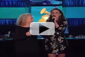 VIDEO: Carole King, Sara Bareilles Perform 'Beautiful' at Grammy Awards