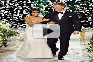 VIDEO: THE BACHELOR's Sean & Catherine Tie the Knot on LIVE TV!