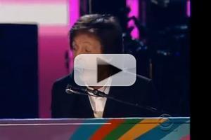 VIDEO: McCartney & Starr Reunite at GRAMMY AWARDS with 'Queenie Eye' Performance
