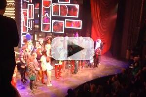 STAGE TUBE: Billy Porter & Harvey Fierstein Say Goodbye to Stark Sands at KINKY BOOTS Curtain Call