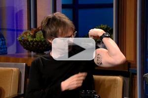 VIDEO: Dana Carvey Shows Off His Jay Leno Tattoo on TONIGHT SHOW