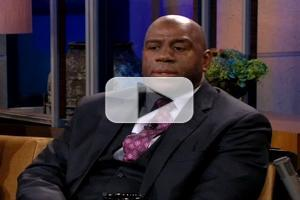 VIDEO: Magic Johnson Gives His Take on Rodman's Trip to N Korea on LENO