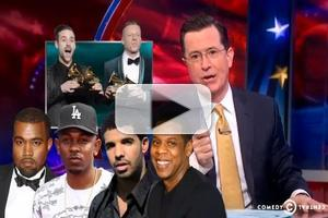 VIDEO: Stephen Congratulates Himself on Grammy Win on COLBERT!