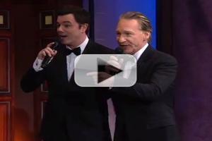 VIDEO: Seth MacFarlane, Bill Maher Sing Fond Farewell to Jay