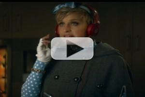 VIDEO: ELLEN Reveals Her Beats Music Super Bowl Ad!