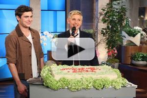 VIDEO: Adam Levine, Zach Efron & More Wish ELLEN a Happy Birthday