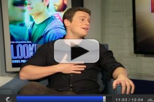 VIDEO: Jonathan Groff Croons Sinatra & Talks New HBO Series, GLEE & Frozen
