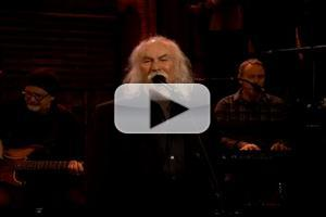 VIDEO: Music Legend David Crosby Performs 'What's Broken' on FALLON