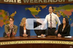 VIDEO: Seth Meyers Says Goodbye to 'Weekend Update' on SNL