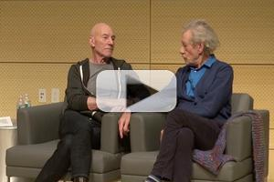 BWW TV Exclusive: Backstage with Richard Ridge- SAG Foundation Conversations Series with Ian McKellen & Patrick Stewart; Part 2