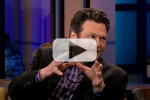 VIDEO: Blake Shelton Has Special Parting Gift for Jay on TONIGHT