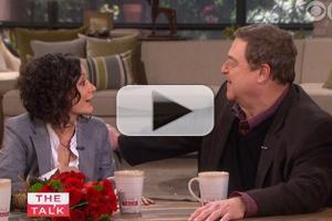 VIDEO: Sneak Peek - Sara Gilbert Reunites with TV Dad John Goodman on THE TALK