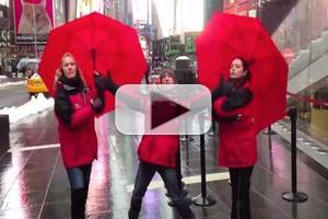 STAGE TUBE: TKTS Staff Bemoans Winter Weather with 'Wrecking Ball' Spoof