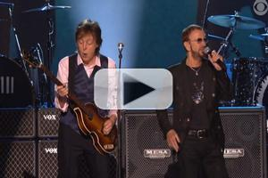 VIDEO: First Look - Paul McCartney, Ringo Starr Reunite on CBS's A GRAMMY(R) SALUTE TO THE BEATLES