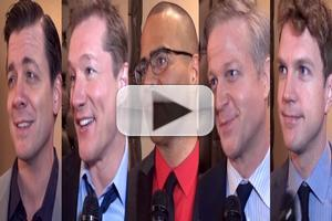 BWW TV: Chatting with the Company of BRONX BOMBERS on Opening Night!