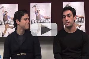 STAGE TUBE: Kids' Night on Broadway Spotlight- NEWSIES' Tommy Martinez & Tommy Bracco