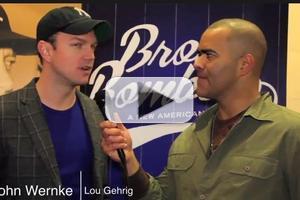 STAGE TUBE: Kids' Night on Broadway Spotlight- BRONX BOMBERS' Christopher Jackson & John Wernke