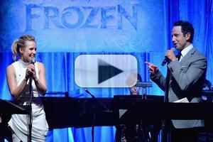 BWW TV: For the First Time in Forever - See the FROZEN Cast Sing Live Including Menzel, Bell, Gad & Fontana!