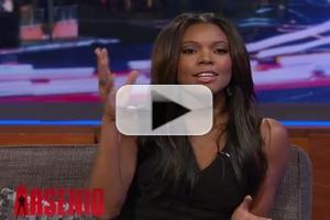 VIDEO: Gabrielle Union Talks Wedding Plans & Prenups on ARSENIO HALL
