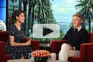 VIDEO: Eva Mendes Addresses Pregnancy Rumors on ELLEN