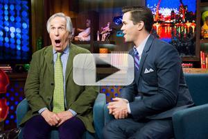 VIDEO: Andrew Rannells, Henry Winkler Visit Last Night's WATCH WHAT HAPPENS!