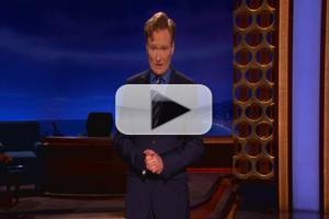 VIDEO: CONAN Talks Ryan Seacrest, Valentine's Day and More in Tonight's Monologue