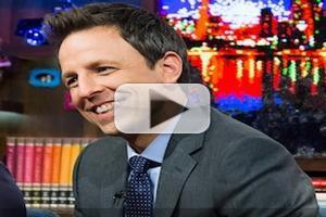 VIDEO: Seth Meyers Talks New Show, Reveals Favorite SNL Moment on Bravo