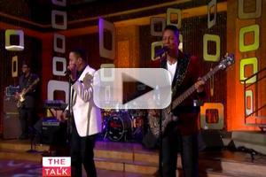 VIDEO: The Jacksons Perform Classic Hit 'ABC' on THE TALK!