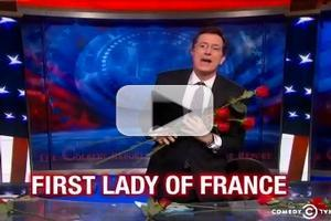 VIDEO: Stephen Receives Unexpected State Dinner Honor on COLBERT