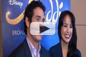 BWW TV: Meet the Company of Broadway's ALADDIN- Adam Jacobs, Courtney Reed & More!