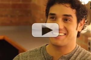 STAGE TUBE: Meet the Company of ALADDIN- Adam Jacobs!
