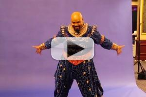 STAGE TUBE: Meet the Company of ALADDIN- James Monroe Iglehart