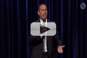 STAGE TUBE: Jerry Seinfeld Performs on THE TONIGHT SHOW WITH JIMMY FALLON - First Look!