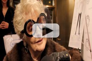 BWW TV: Elaine Stritch Encores TODAY Show F-Bomb on SHOOT ME Red Carpet!