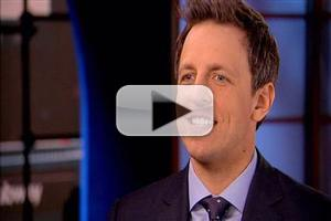 VIDEO: Seth Meyers Expecting 'White Hot Panic' on Tonight's Late Night Debut
