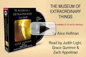 VIDEO: Excerpt/Exclusive Interview of Alice Hoffman on Her New Release, THE MUSEUM OF EXTRAORDINARY THINGS with Tony/Emmy Award Winner Judith Light