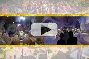 VIDEO: Walt Disney Imagineering Reveals First Footage of New Seven Dwarfs Mine Train Ride
