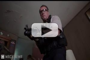 VIDEO: New Clip from SABOTAGE, Featuring Arnold Schwarzenegger