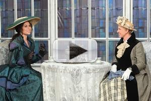 VIDEO: Ellen & Minnie Driver Audition for 'Downton Abbey' on ELLEN