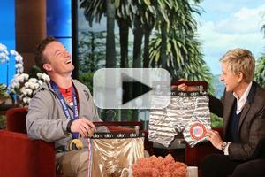 VIDEO: Gold Medalist David Wise Gets Surprise Gift on ELLEN