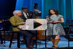 VIDEO: Sneak Peek - GREAT PERFORMANCES Steve Martin & Steep Canyon Players ft. Edie Brickell