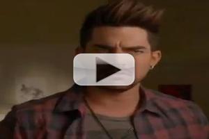 VIDEO: Sneak Peek - Adam Lambert Guests on GLEE's 'Trio' Episode