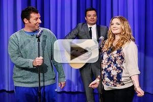 VIDEO: Adam Sandler & Drew Barrymore Reunite w/ 'Every 10 Years' Song on FALLON