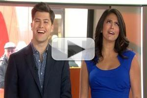 VIDEO: 'Weekend Update' Team Cecily Strong & Colin Jost Quiz TODAY Anchors