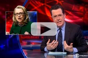 VIDEO: Critics Target HIlary Clinton's Age on COLBERT
