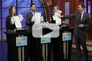 VIDEO: Seth Meyers Introduces New Game 'Fake or Florida' on LATE NIGHT